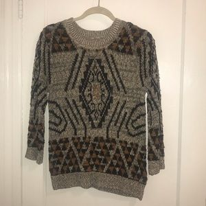 H&M Geometric Knit Sweater